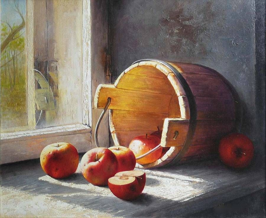 Still Life Watercolor Paintings Realistic Still Life Painting