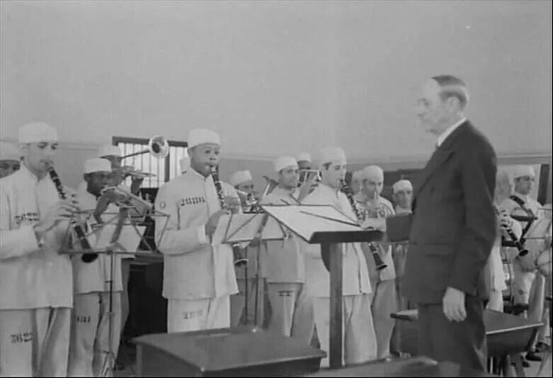1937 - Banda de música dos presidiários do Carandirú.