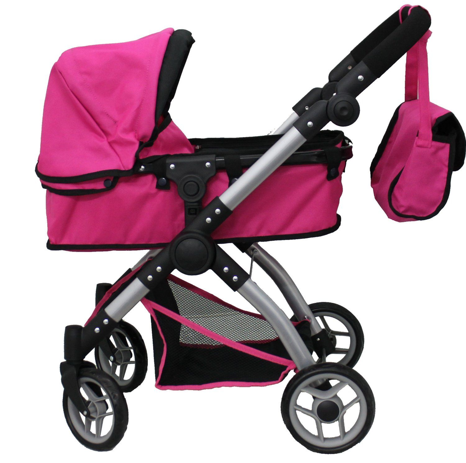 Amazon Com Mommy Me 2 In 1 Deluxe Doll Stroller View All