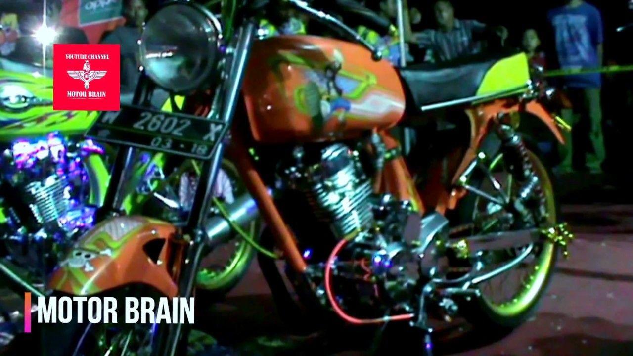 Cb Orange Modifikasi Honda Gl Kontes Gaya Herex Cb Drag Bike