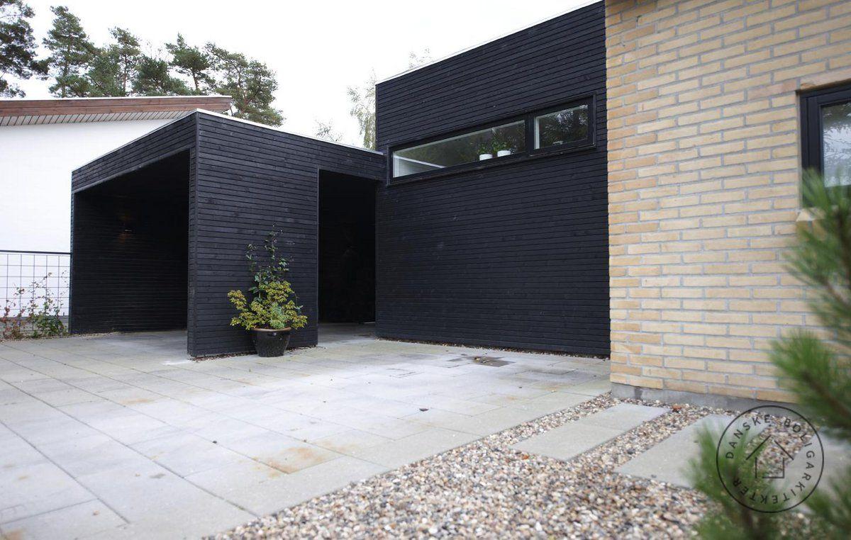 Nænsom om- og tilbygning af parcelhus | Carport