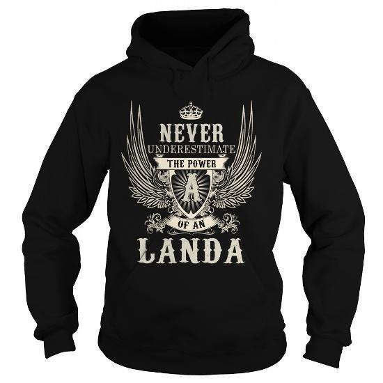 LANDA LANDAYEAR LANDABIRTHDAY LANDAHOODIE LANDANAME LANDAHOODIES  TSHIRT FOR YOU