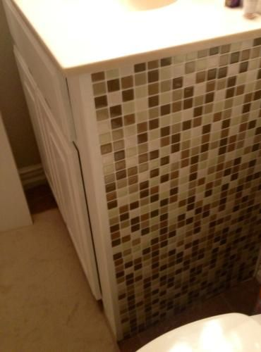 Faience salle de bain Smart Tiles, lu0027original Vous pouvez même les - percer carrelage salle de bain