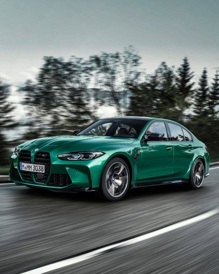 2021 Bmw M3 First Look Big Grille Big Power And A Stick Shift Bmw Bmw Classic Cars Bmw M3