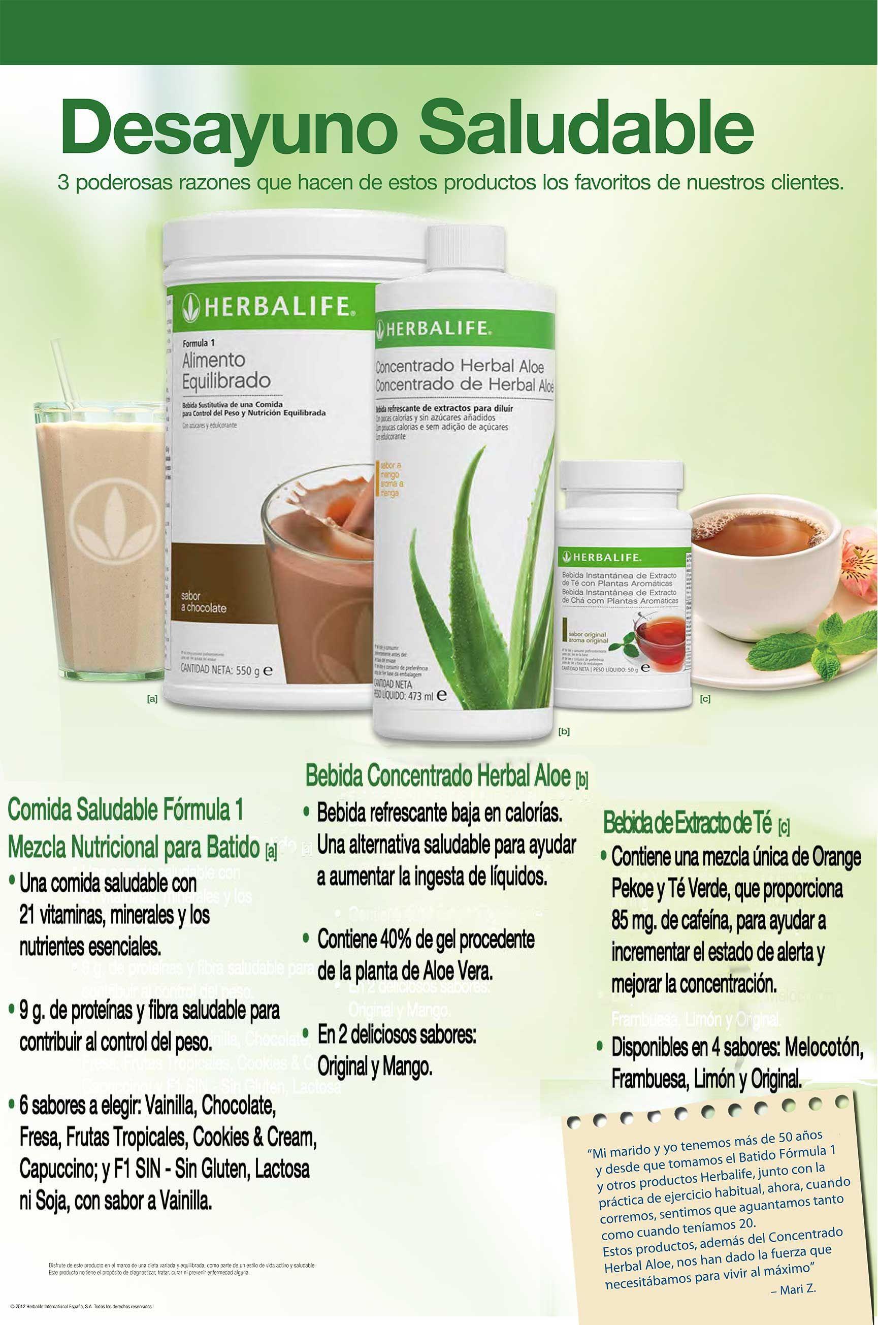 Desayuno Saludable Herbalife Herbalife Tips Herbalife Herbalife Protein