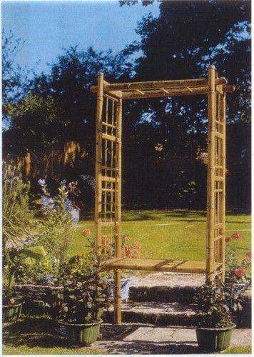 Bambus Pergola Bausatz Garten Pinterest