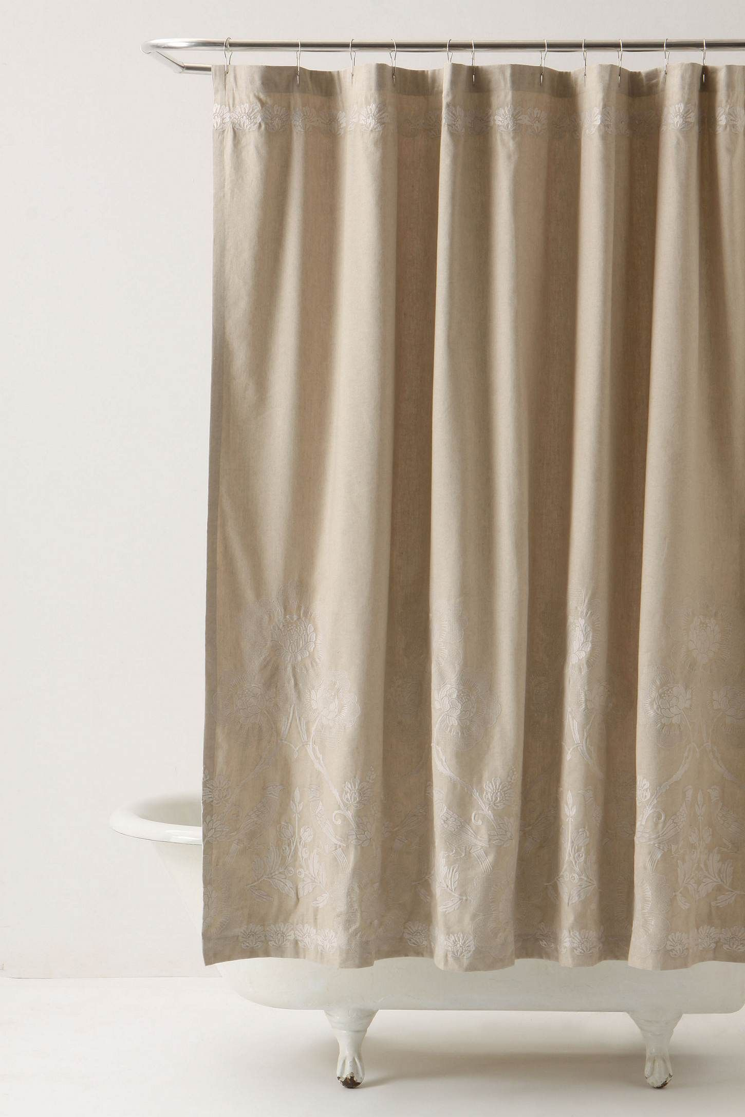 Shower Curtains For Less Looking For One Simple And Elegant Like This For 100 Less For