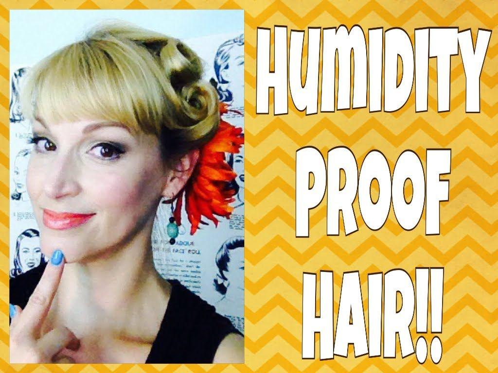 High humidity hairsimple vintage summer updo lisaashley toupiert