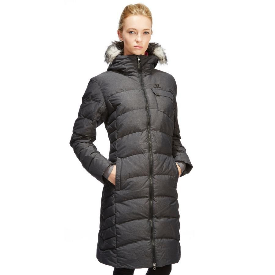nice ... Salomon Women's Coteaux Long Down Parka | Long Down Coats ...