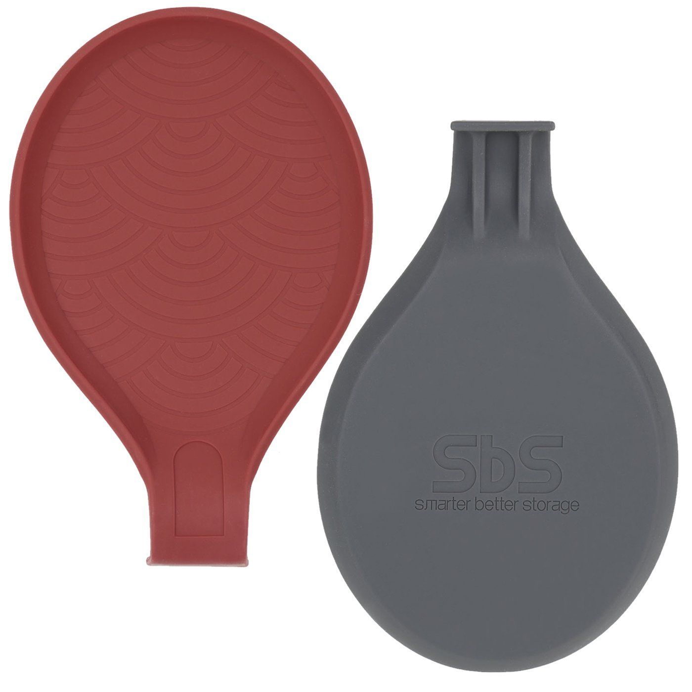 Sbs Low Profile Silicone Spoon Rest Amazon Lightning Deal Picks Http Wp Me P56eop Nk4 Spoon Rests Red And Grey Kitchen Accessories Decor