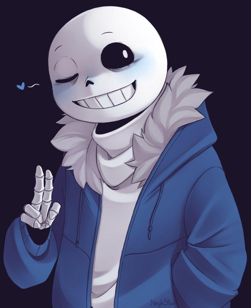Картинки скелета санса