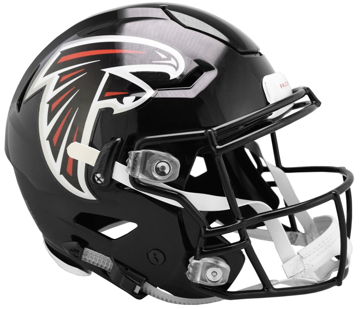 Atlanta Falcons Riddell Speed Replica Helmet 2003 2019 Atlanta Falcons Helmet Falcons Helmet Football Helmets