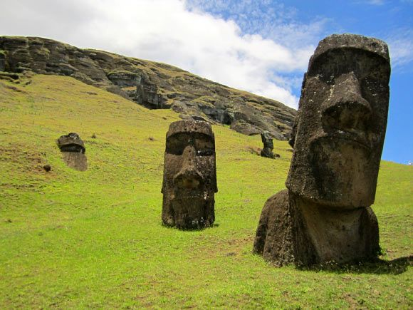 Easter Island may have had population of 17,500 in its heyday. A new study published in the journal Frontiers in Ecology and Evolution examines the relationship between agricultural potential and population on Easter Island before the arrival of European explorers.