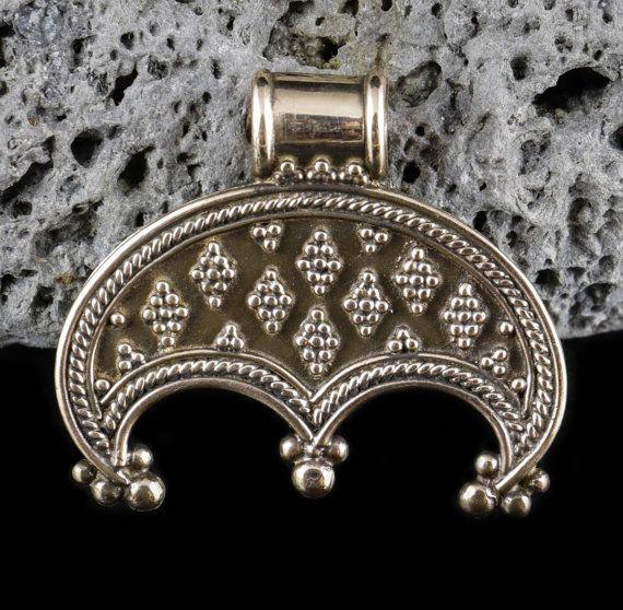 MORAVIA Bronze Slavic or Viking LUNITSA Lunula by WulflundJewelry