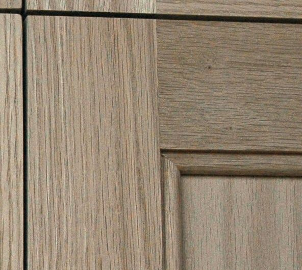 Love This Door Style And Is That Grey Stain Kitchen