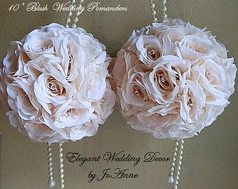 wedding decorations blush - Google Search