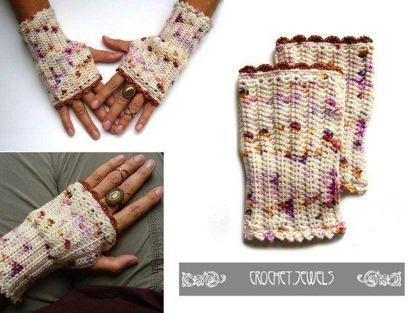 Gehäkelte Pulswärmer von crochet-jewels Das eBook beinhaltet die ...