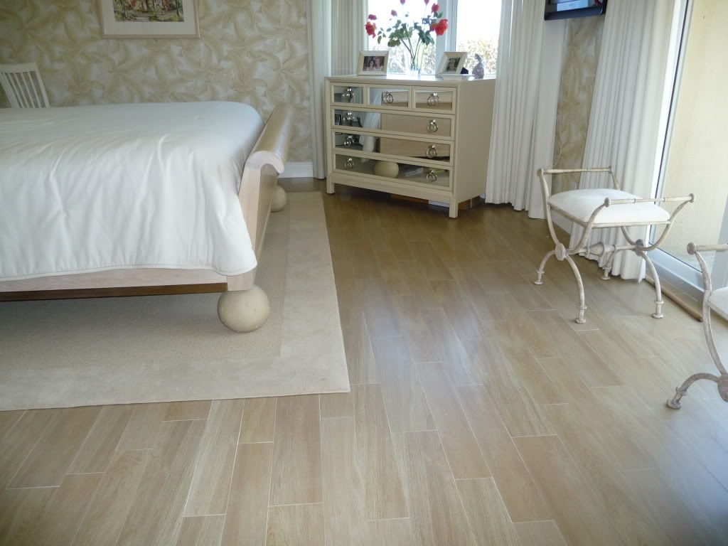 Porcelanosa porcelain wood like tile ... The tile can be ...