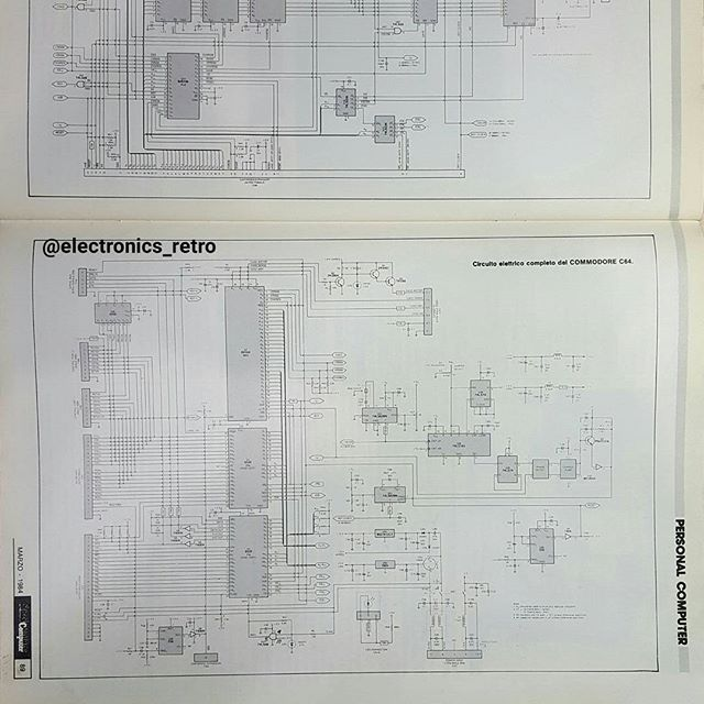A little gift for enthusiasts commodore 64 SCHEMATIC 2