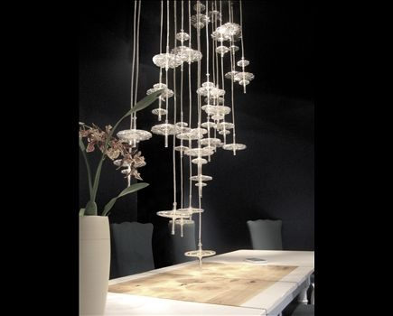 Melogranoblu Hanging Hydra Collection Gamma Available At Www Cueagents Com Drop Lights Commercial Interiors Room Type