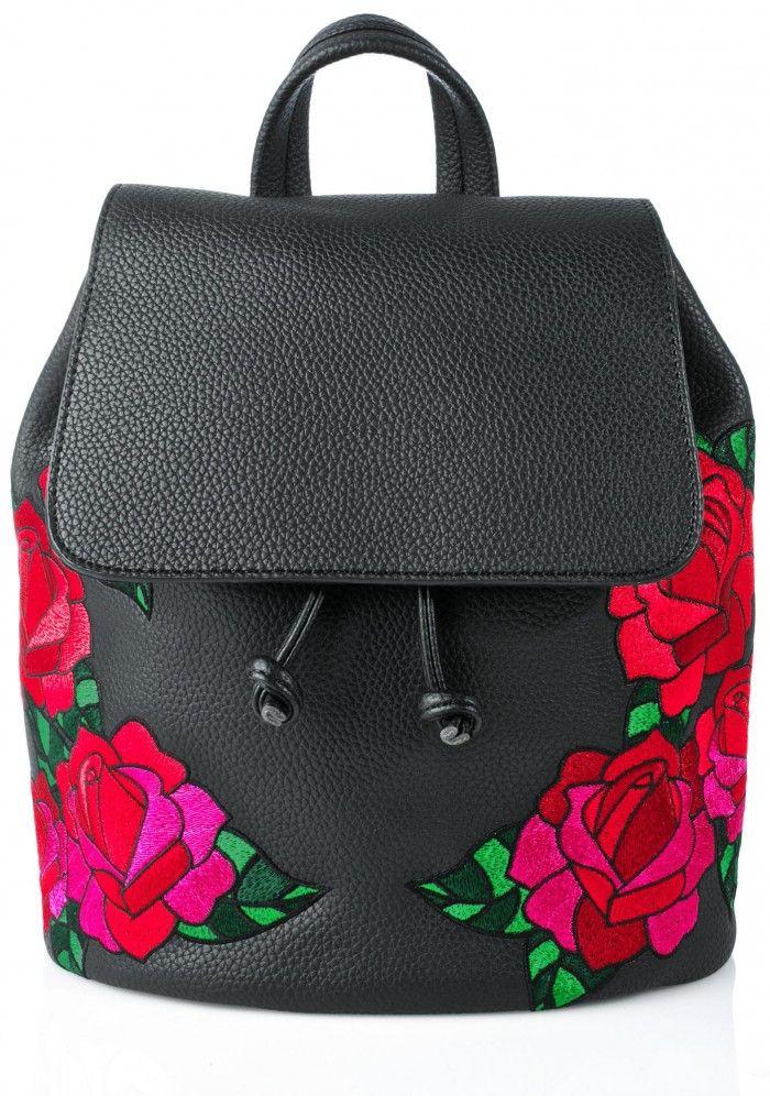 Skinnydip Embroidered Cressida Backpack