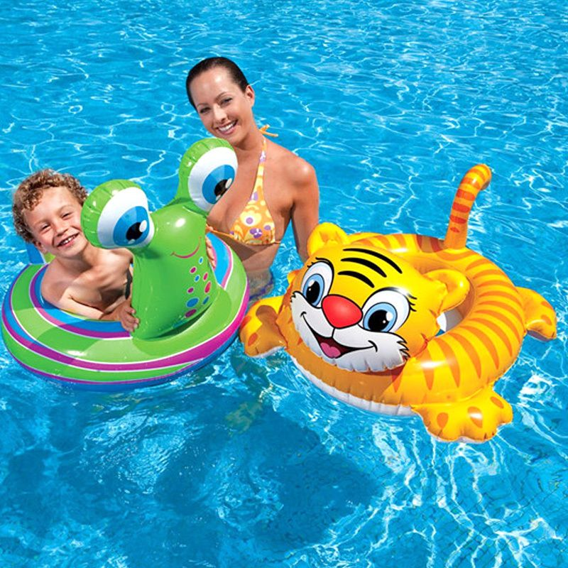 summer Inflatable Toddler Baby swimming ring Swim Ring Infant ...