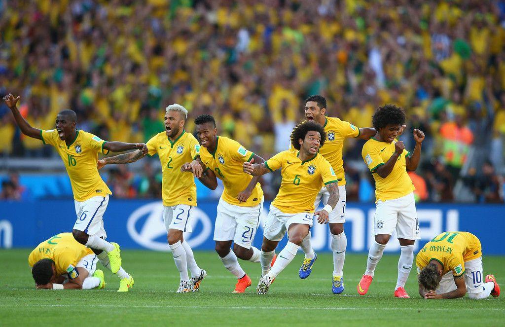 Hulk in Brazil v Chile: Round of 16 - 2014 FIFA World Cup Brazil