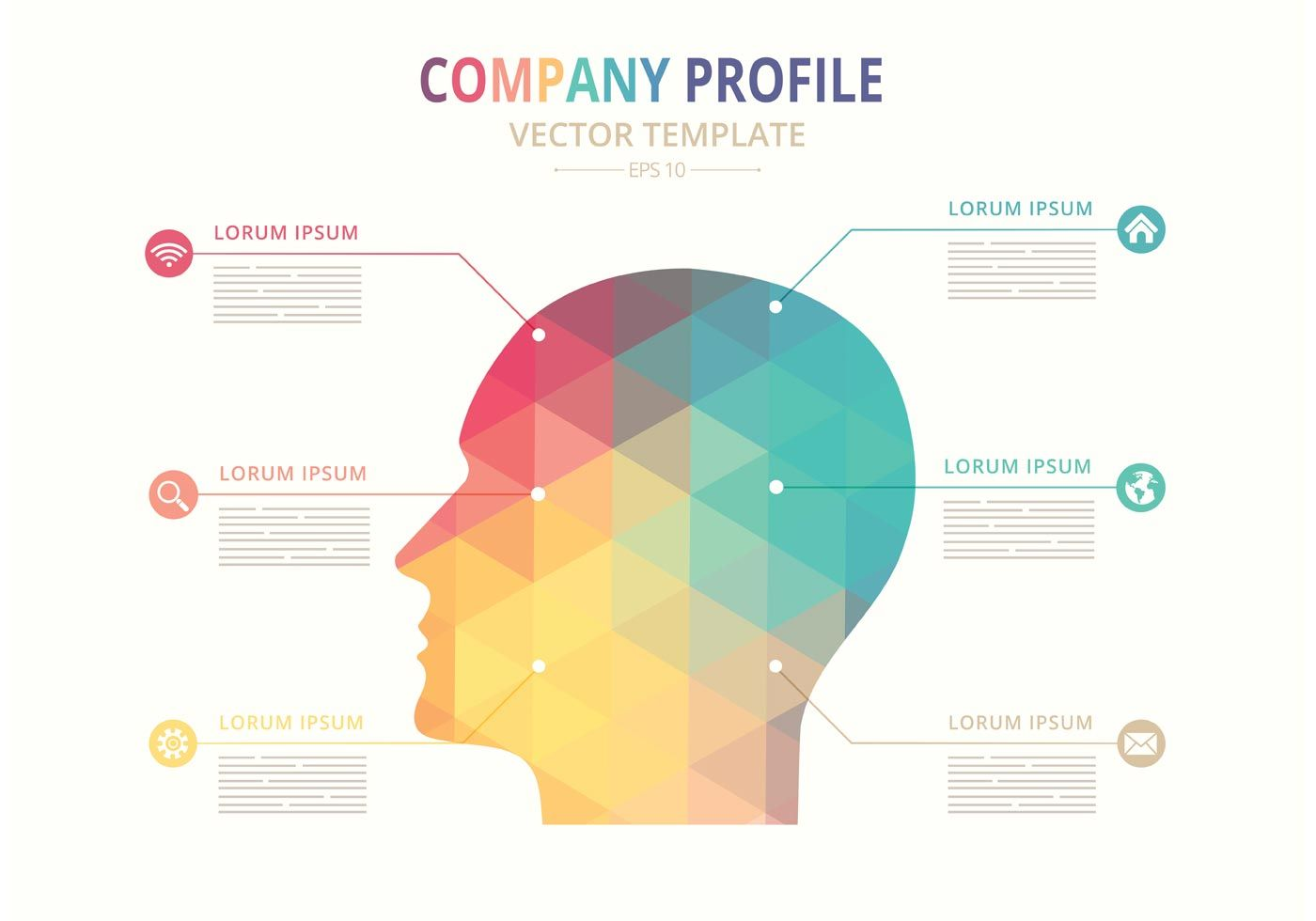 Free vector company profile template advanced design technology free vector company profile template company profile template company profile design free vector art maxwellsz