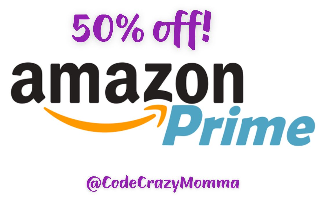save big 50% off Amazon Prime if you have an EBT or Medicaid