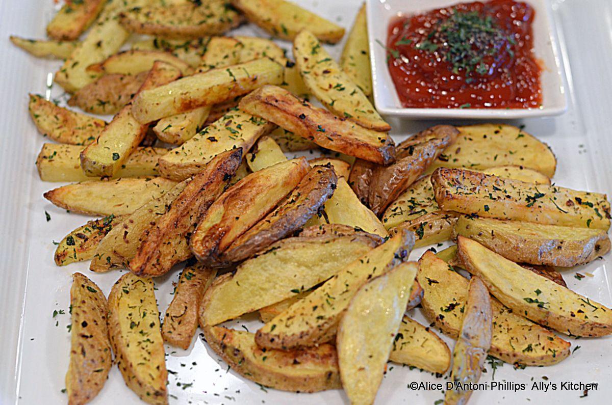 Spicy Greek French Fries