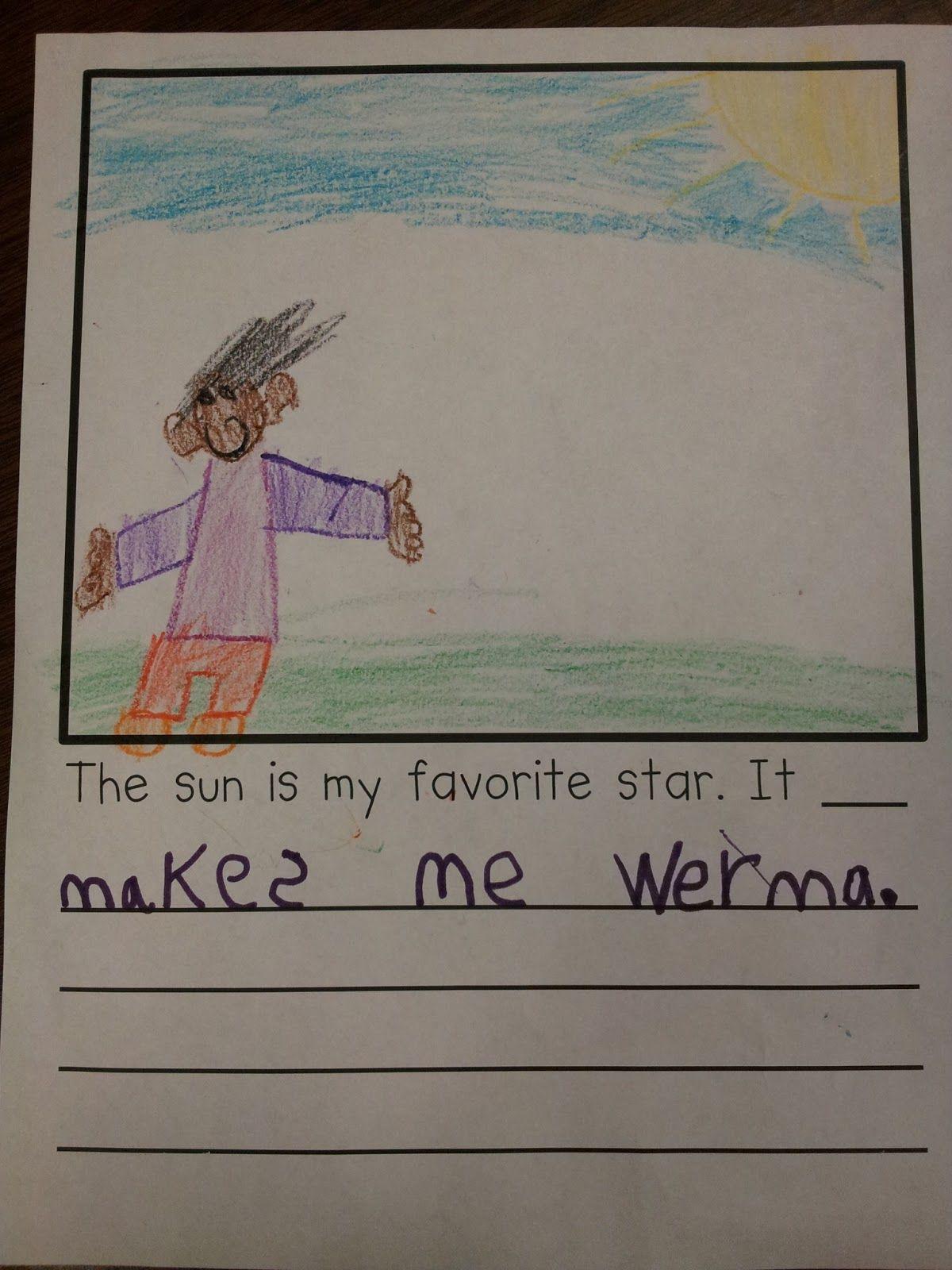 Sun Writing
