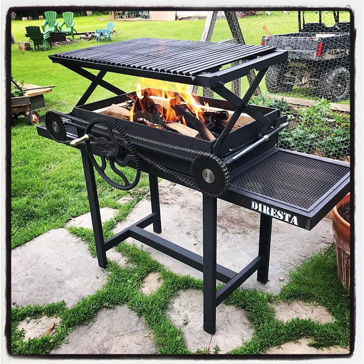The Scissor Lift Bbq Made With The New Lincolnelectric Mp140