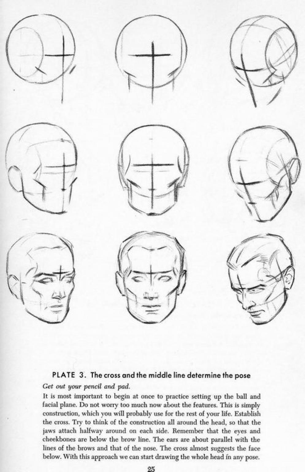 How To Draw A Face 25 Step By Step Drawings And Video Tutorials