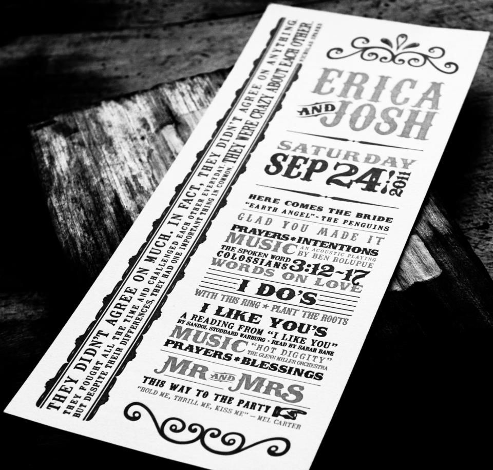 turn of the century carnival themed invites