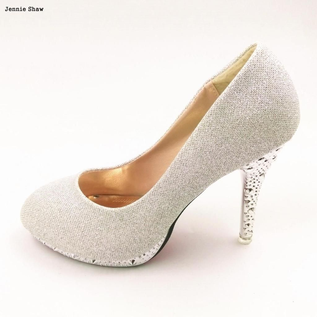 eefb7bd3049 gold high heels green white wedding shoes red bridal shoes Pumps in ...