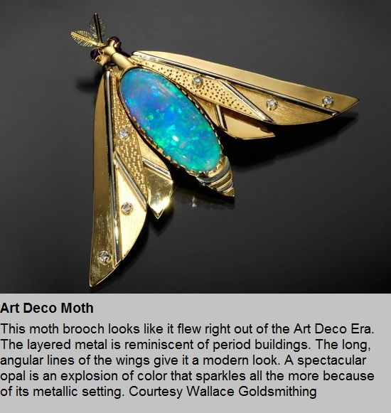 famous art deco jewellery designers - Google Search | Insect ...