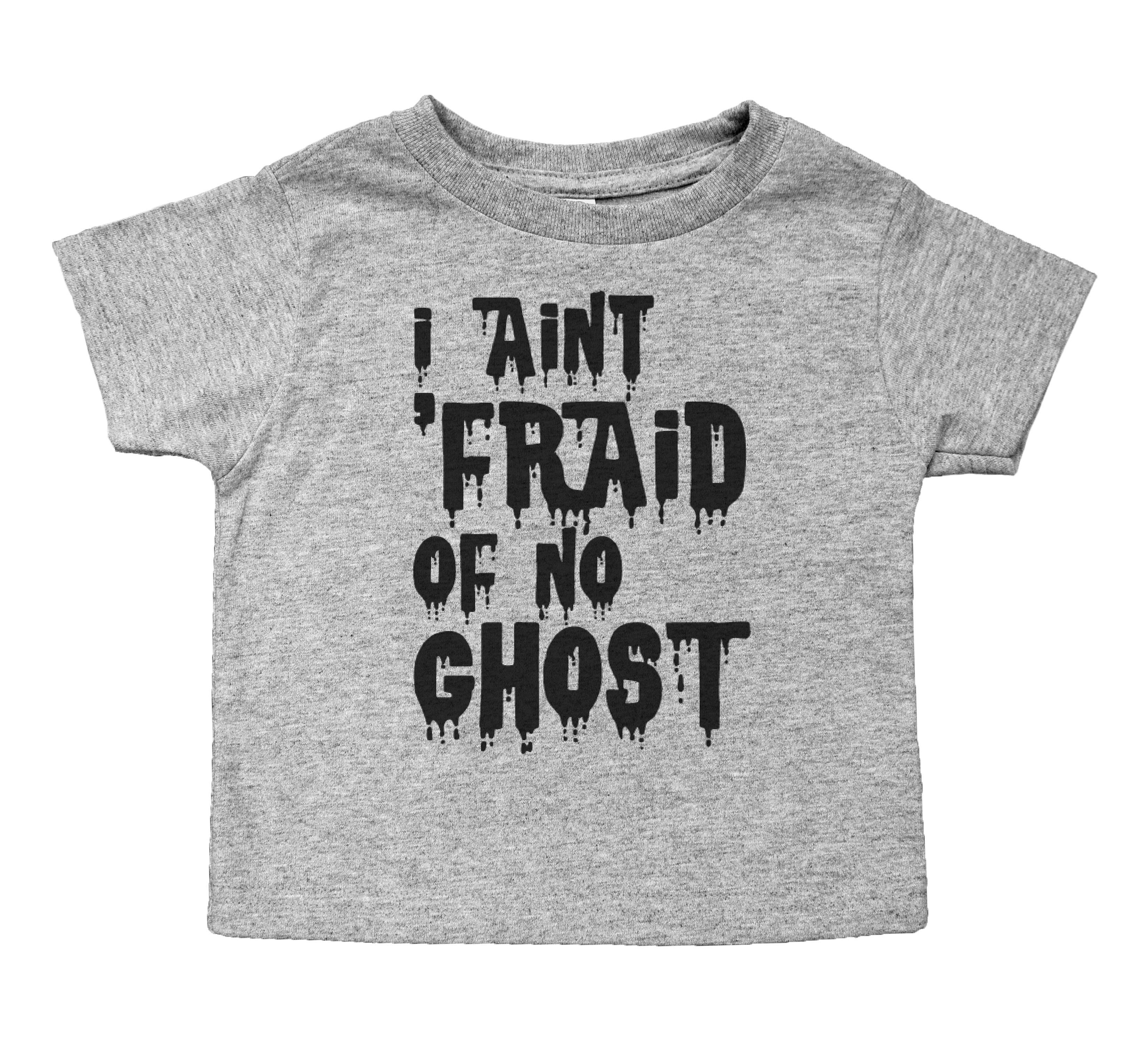 e20514002 Funny Ghostbusters Inspired Toddler T-Shirt for Boys or Girls / Grey or  White