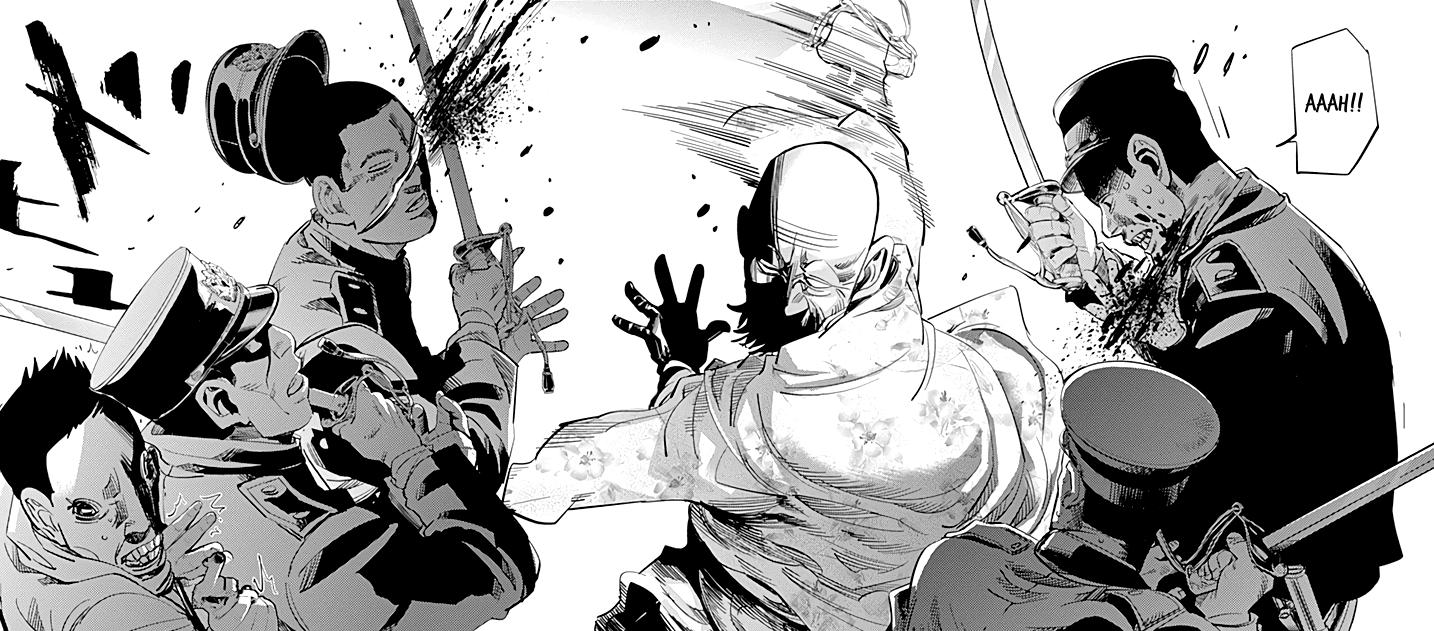 Golden Kamuy Manga Sketches, Anime, Art