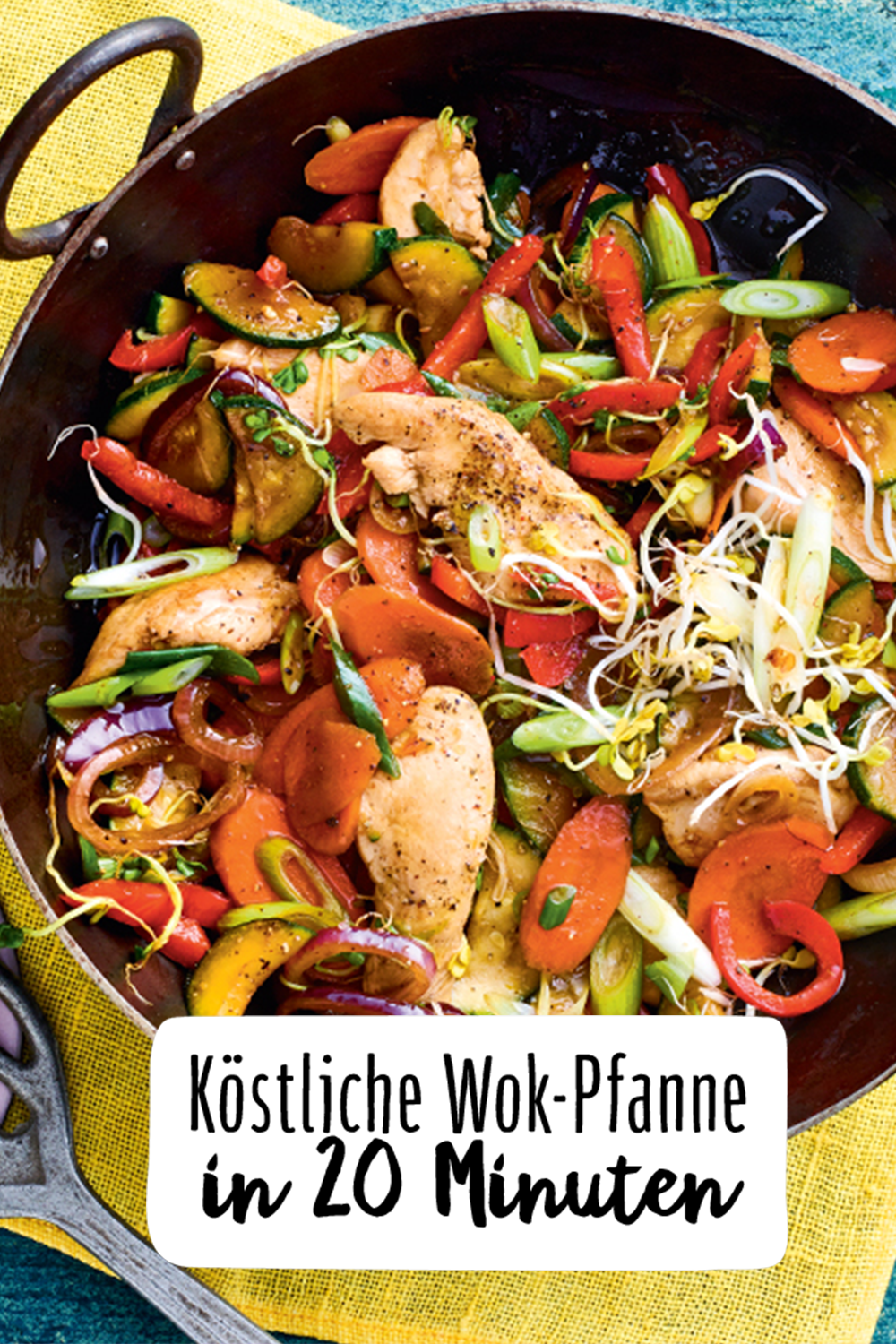 Photo of Delicious wok pan in 20 minutes