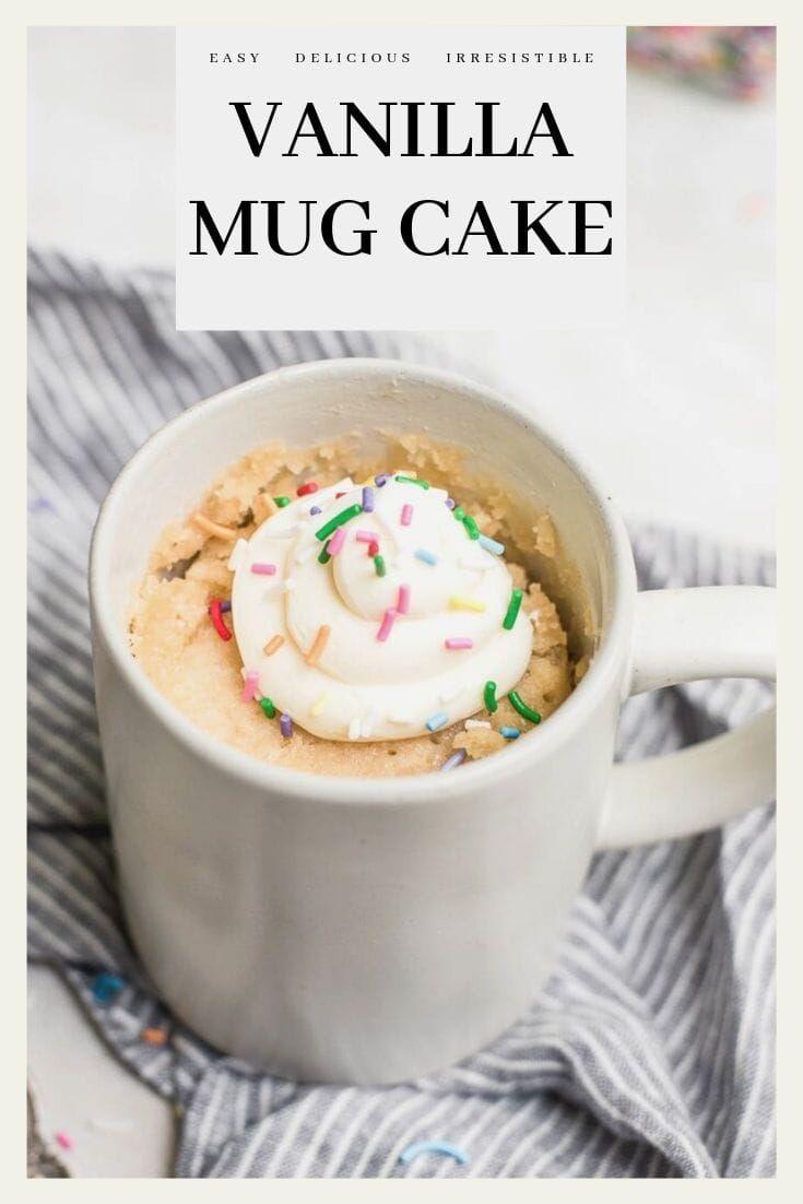 Keto Mug Cookie Microwave