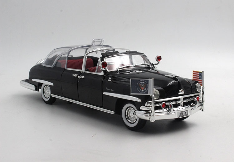 116.00$  Buy now - http://alikae.shopchina.info/go.php?t=32671381877 - 1:24 1950 Bubble Top US presidential limousine classic car model YaMing model Favorites Model 116.00$ #aliexpresschina