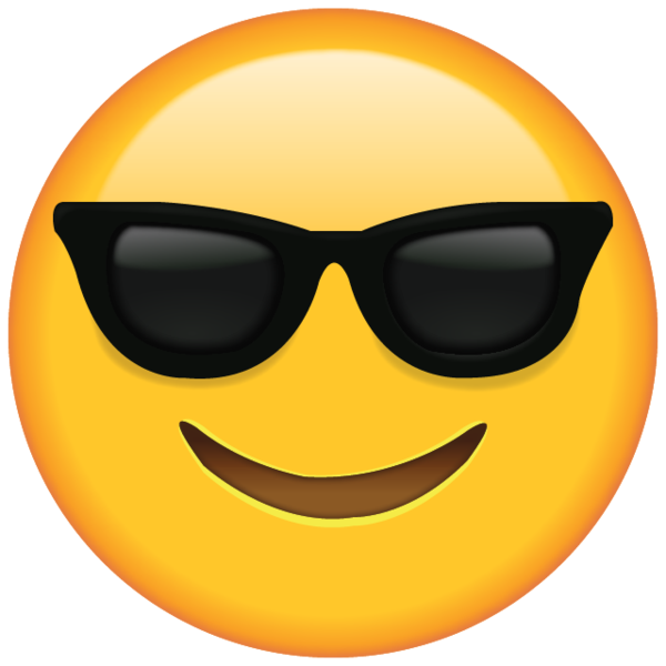 Whether You Re Chilling In The Sun Or Just Feeling Cool This Emoji With Shades Is The One To Choose Emoji Pictures Emoji Faces Sunglass Emoji
