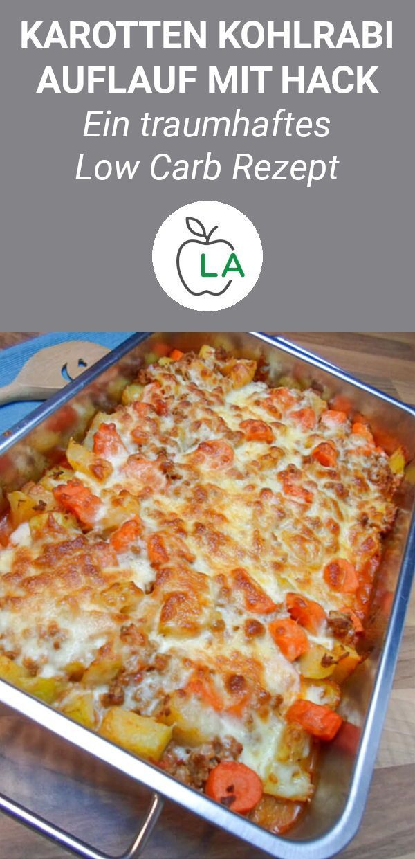 Photo of Low carb kohlrabi carrot minced meat casserole – delicious recipe