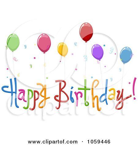 free clip art royalty free vector clip art illustration of happy rh pinterest co uk Free Happy Birthday Cards Happy Birthday Funny