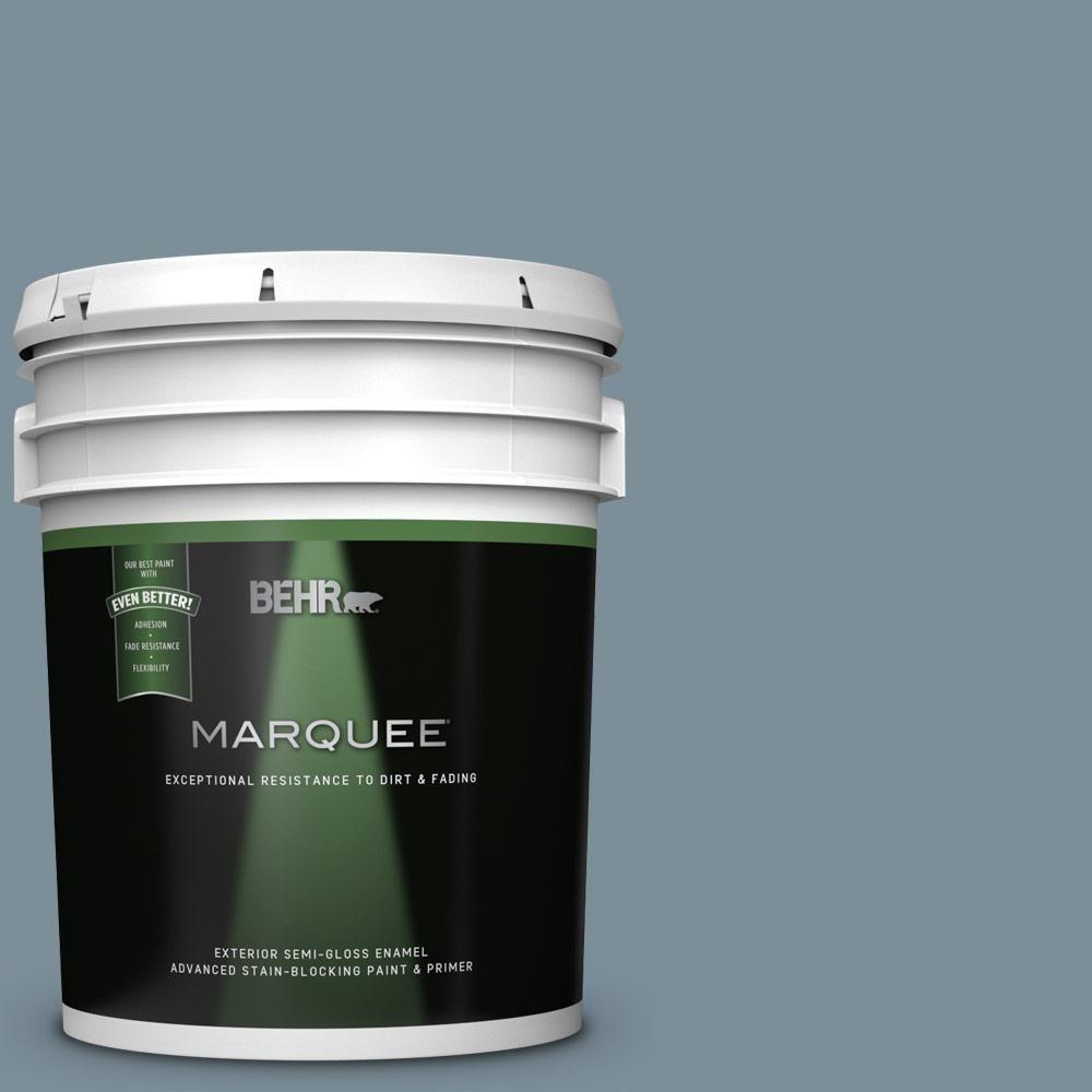 Behr Premium Plus 8 Oz Mq5 20 Cold Steel Flat Interior Exterior Paint And Primer In One Sample Pp10416 Behr Marquee Exterior Paint Behr Marquee Paint