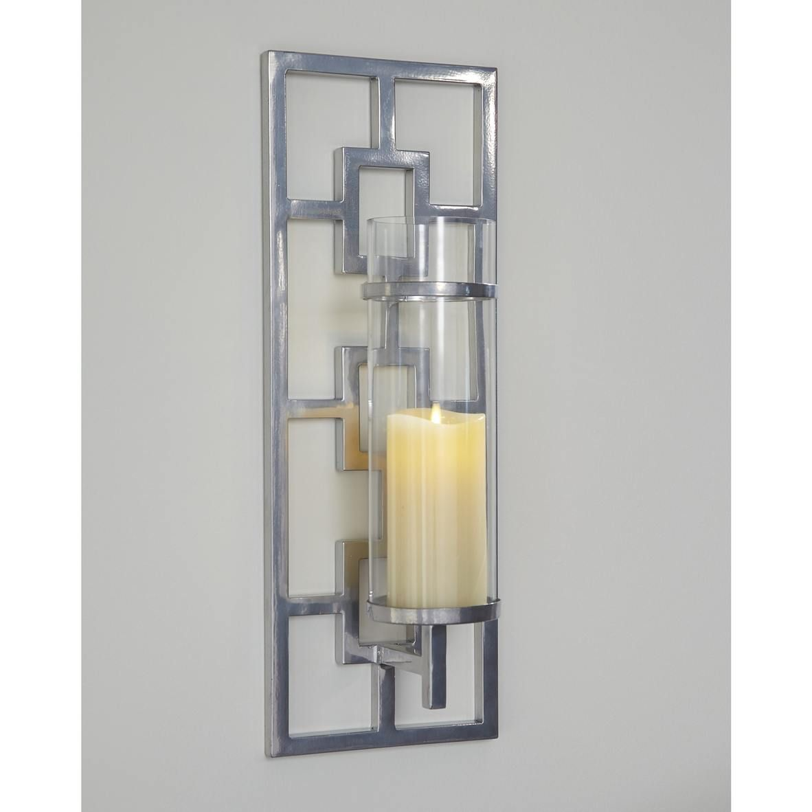 Brede Wall Sconce Silver Finish Top Drawer Furniture Candle Wall Sconces Glass Wall Sconce Sconces