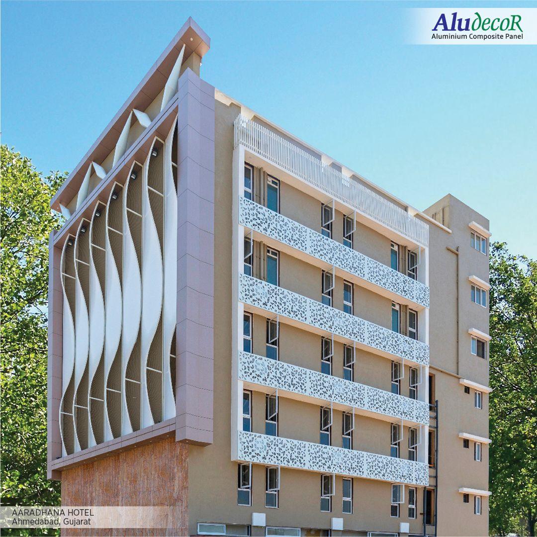 Aaradhana Hotel Paneling Cladding Design