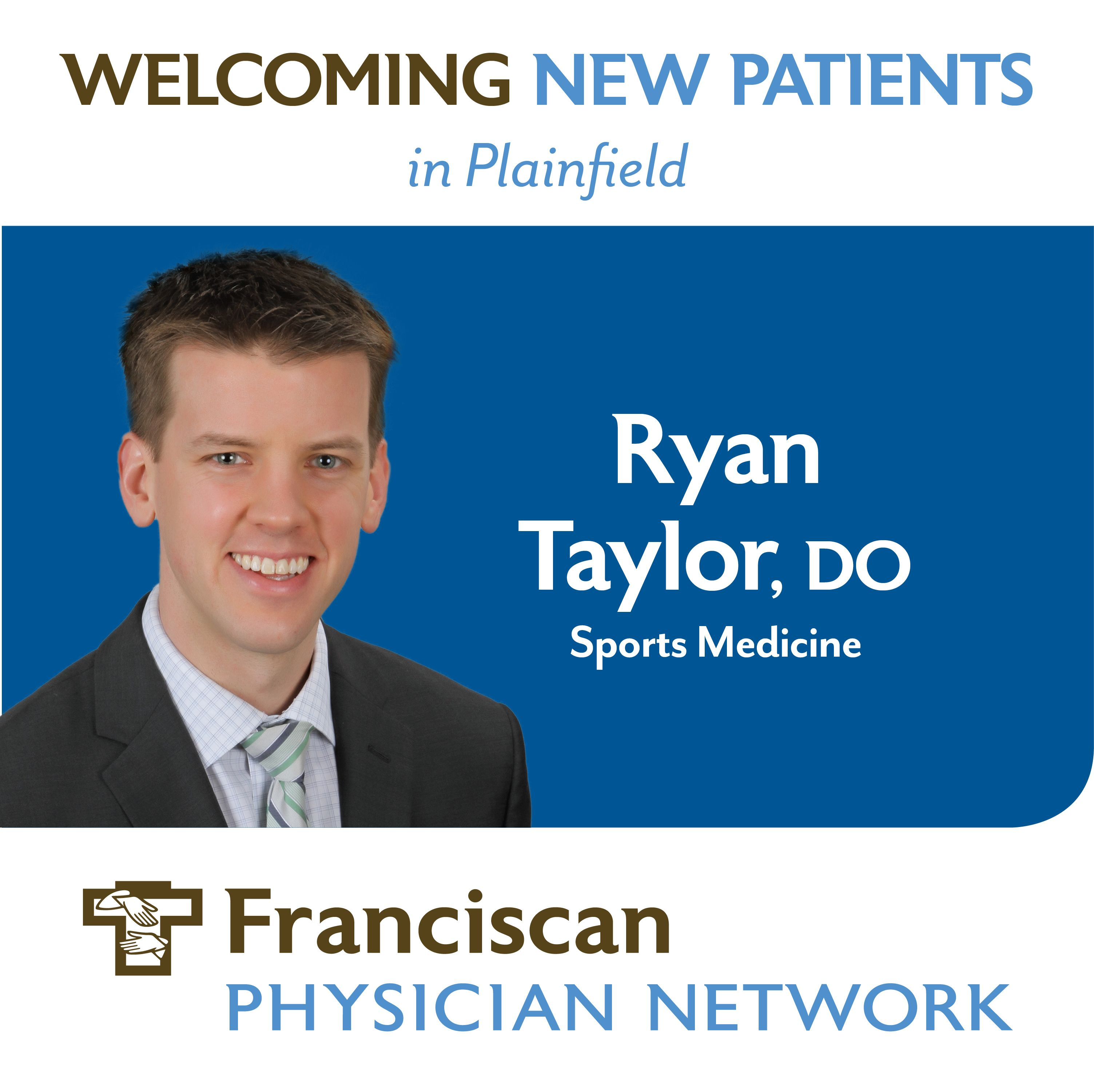 Sports Medicine Physician, Ryan Taylor, DO, Establishes