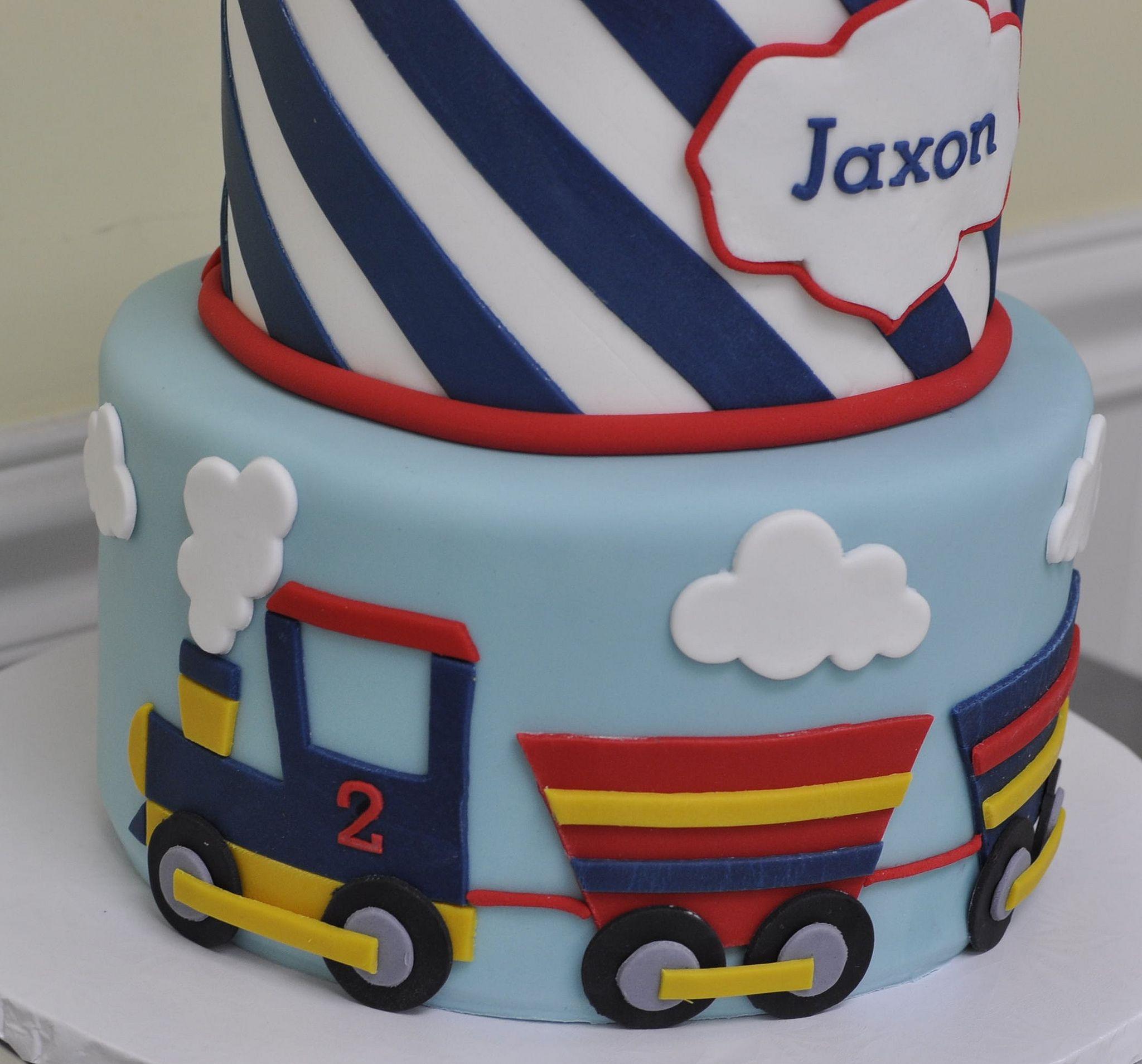 Vintage Train Cake