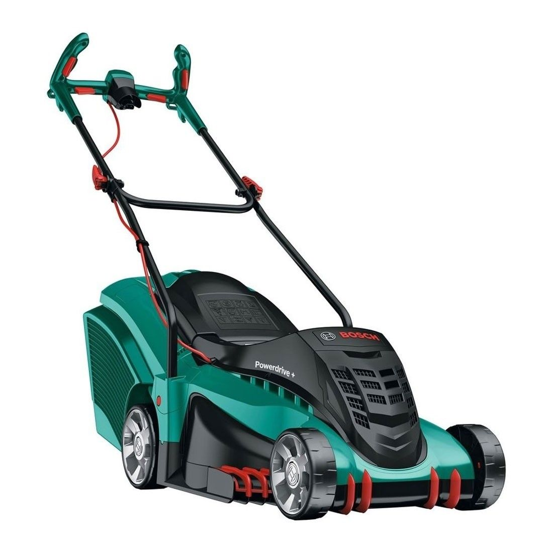 Bosch Rotak 37 Li Ergoflex Cordless Hand Propelled Electric Lawnmower Best Lawn Mower Cordless Lawn Mower Lawn Mower